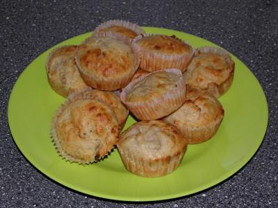 Rabarbermuffins med marcipan