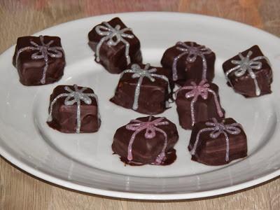 Mandel-karamel fudge