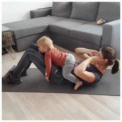 Træning til mor