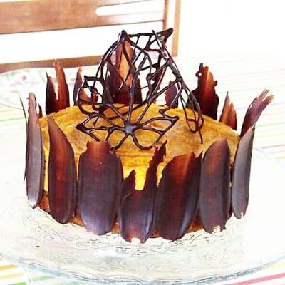 Græskar mousse kage