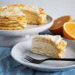 Pandekagekage med appelsincurd