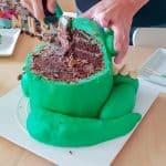 Dinosaur kage
