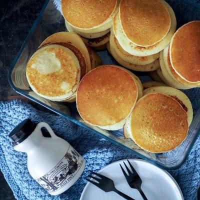 Glutenfrie amerikanske pandekager