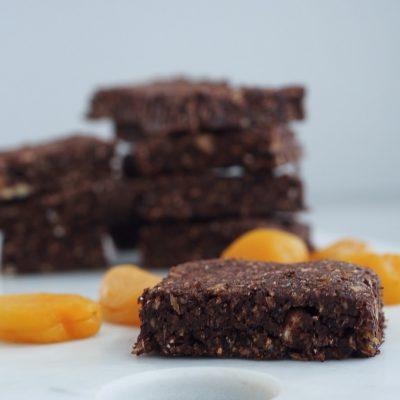 Hjemmelavede kakao frugtstænger