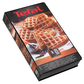 Tefal Snack collection hjertevafler