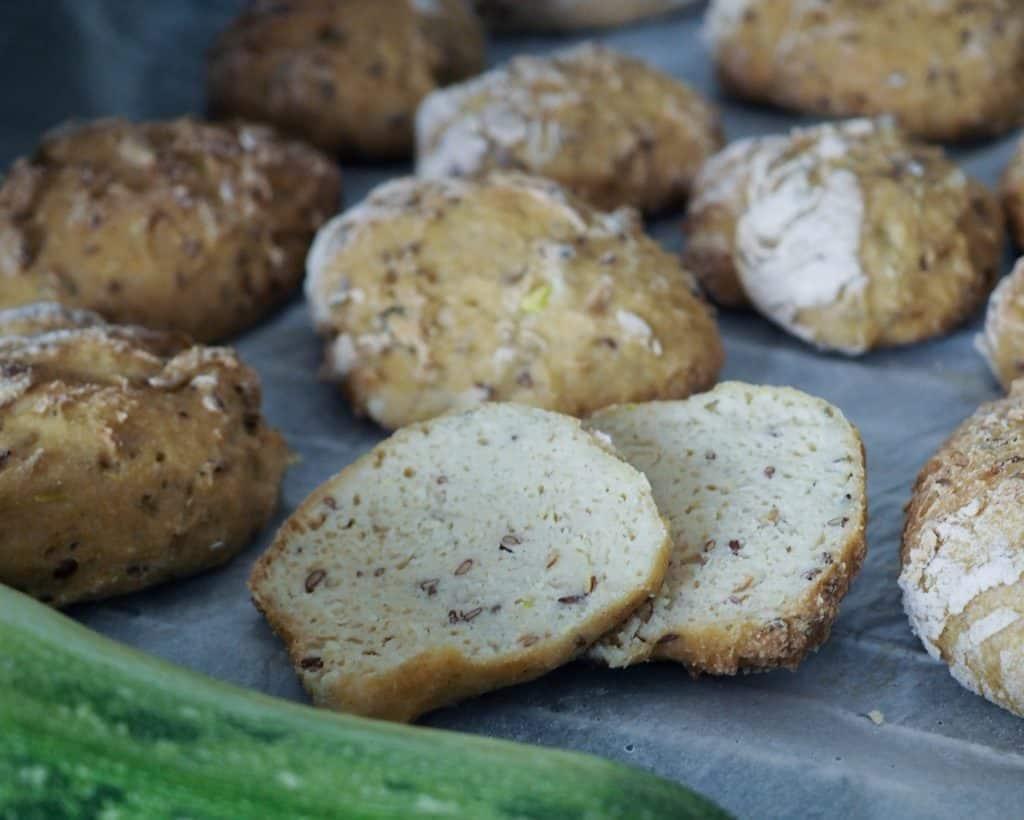 Glutenfrie boller med squash opskrift