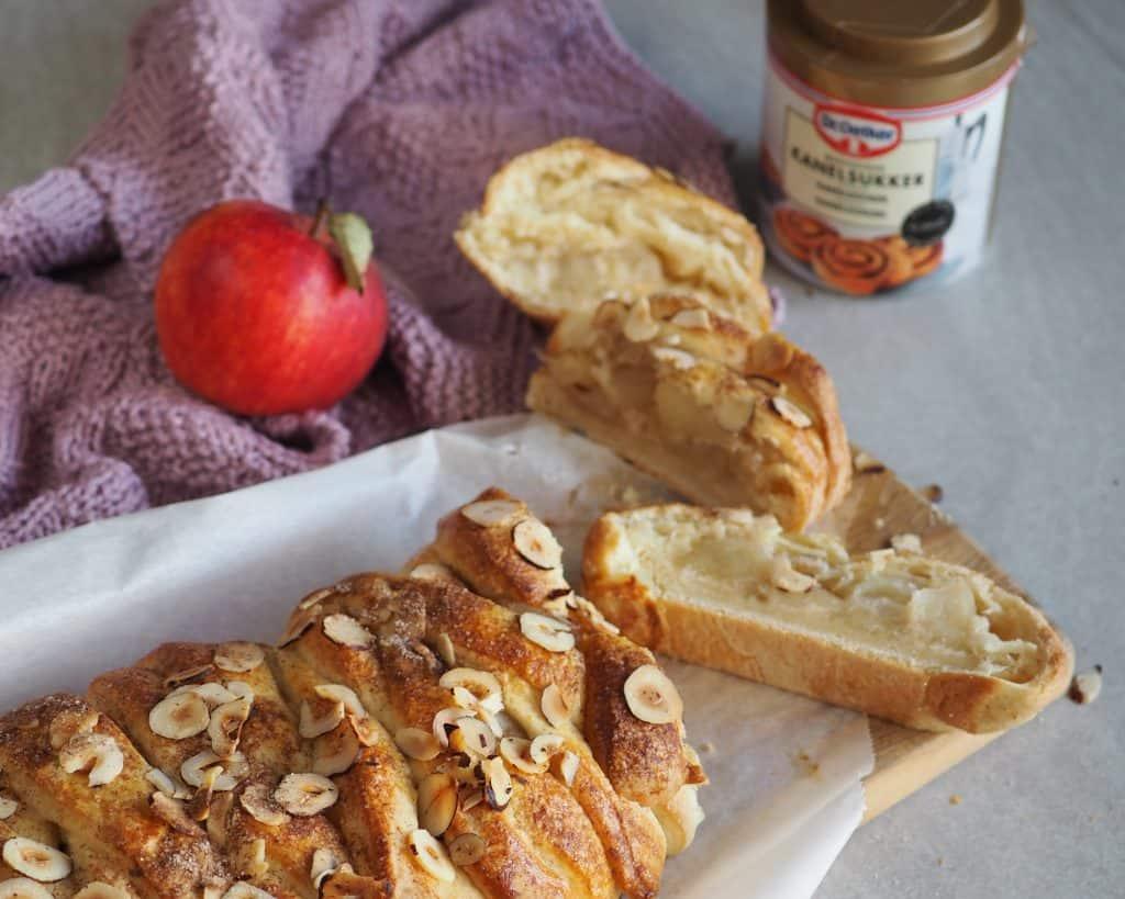 Kringle med æblekompost opskrift
