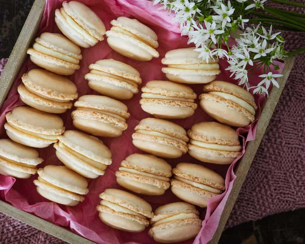 Macarons opskrift, guide og vejledning