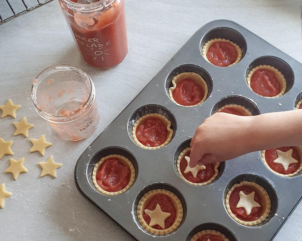 Marmelade tærter