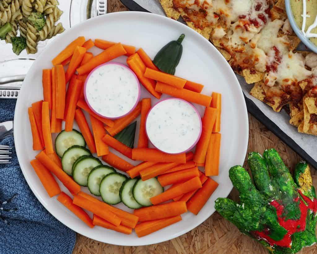 Halloween mad - Gulerods græskar