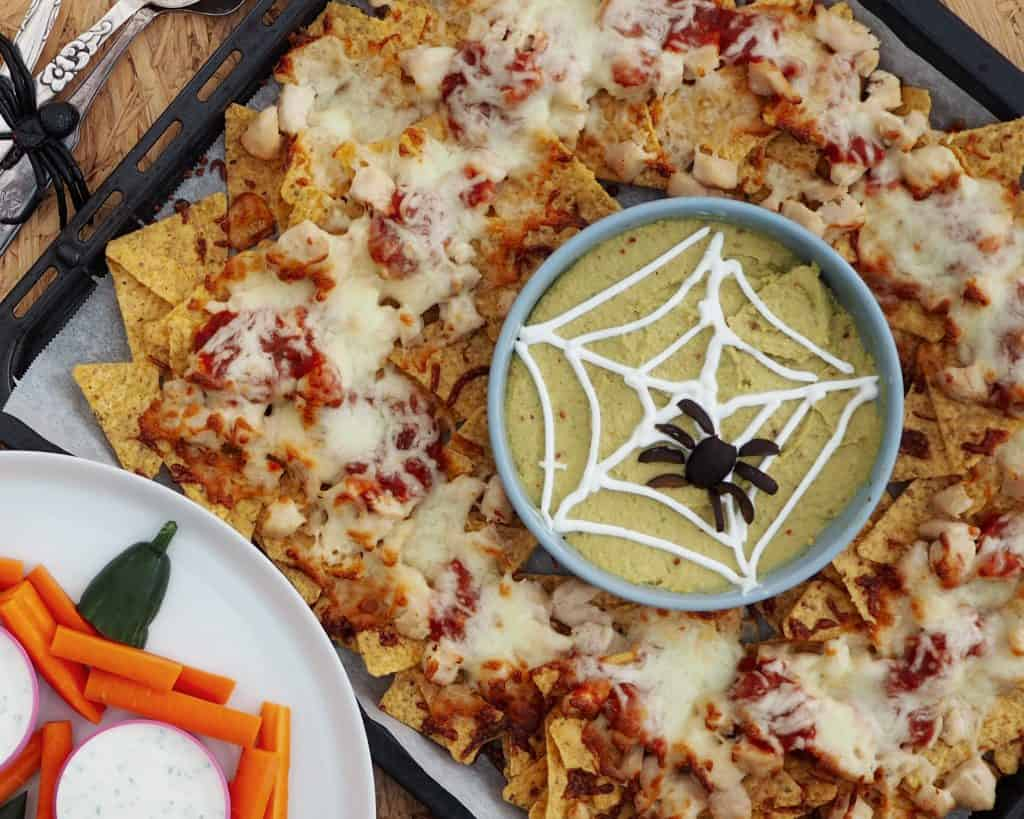 Halloween mad - Halloween nachos
