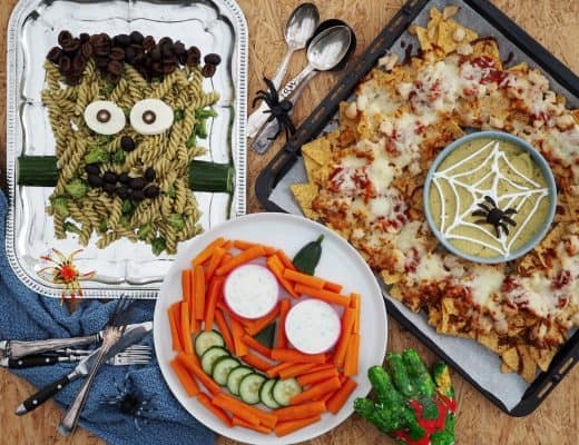 Halloween mad i børnehøjde
