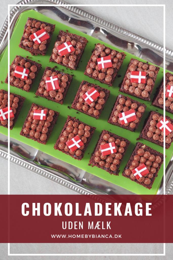 Chokoladekage uden mælk opskrift