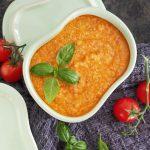Tomatsalsa med friske tomater opskrift