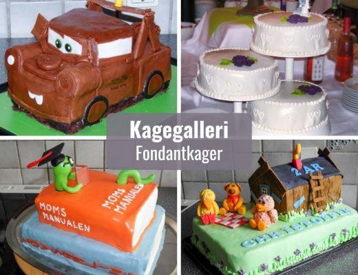 Kagegalleri - fondant kager