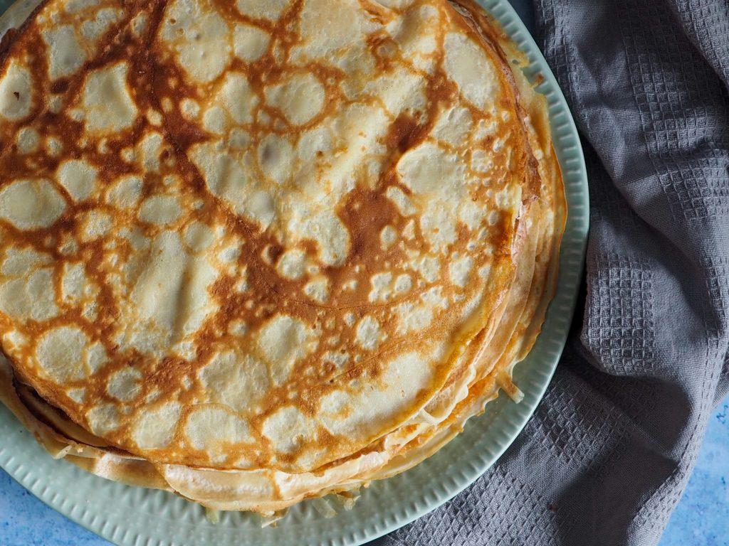 Dessert pandekager opskrift