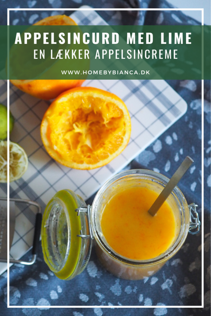 Appelsincurd appelsincreme opskrift