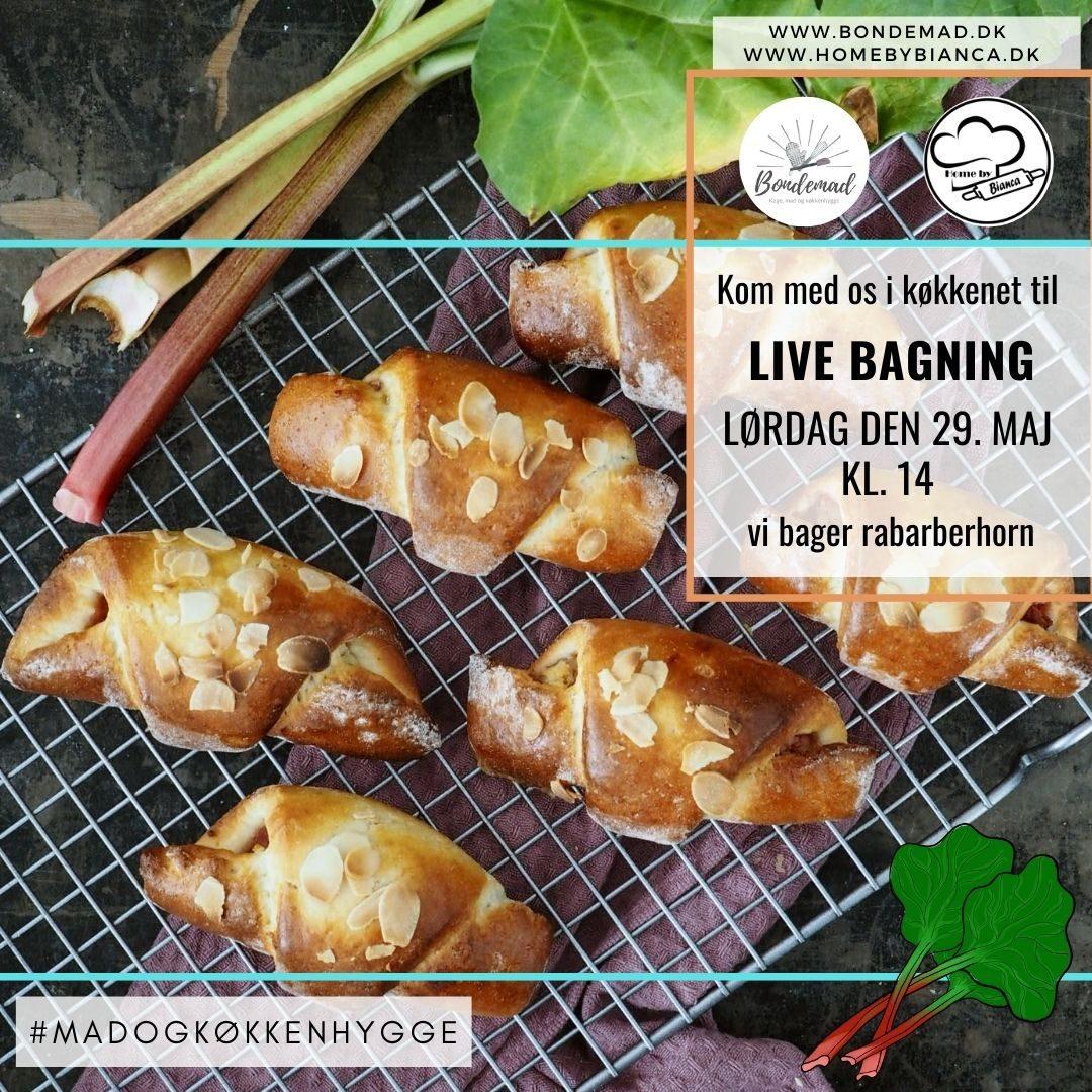 Rabarberhorn live på instagram