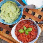 Guacamole og salsa opskrift