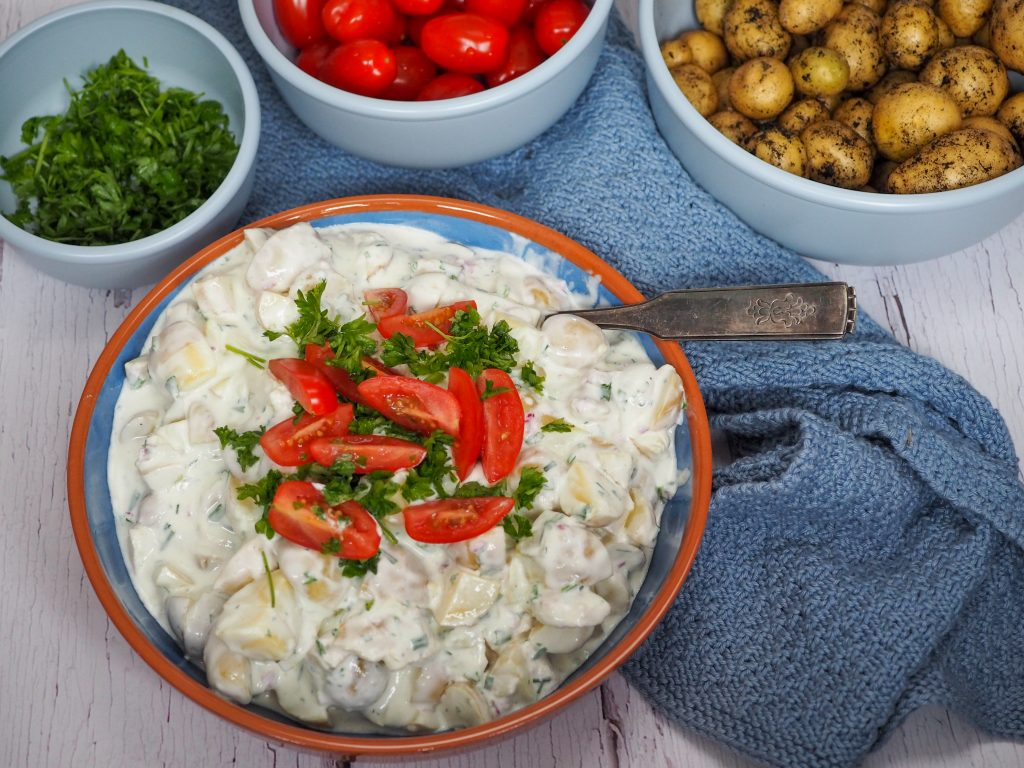 Hjemmelavet kartoffelsalat opskrift