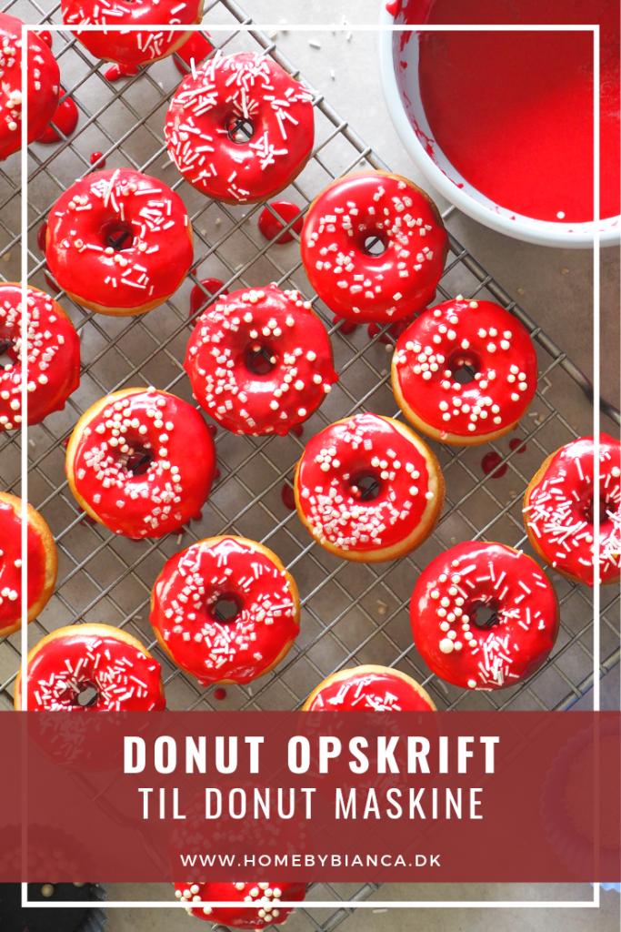 Donut opskrift til donut maskine