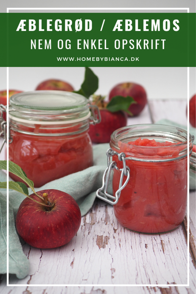 Æblegrød æblemos opskrift