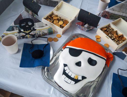 Piratfødselsdag piratkage opskrift guide vejledning