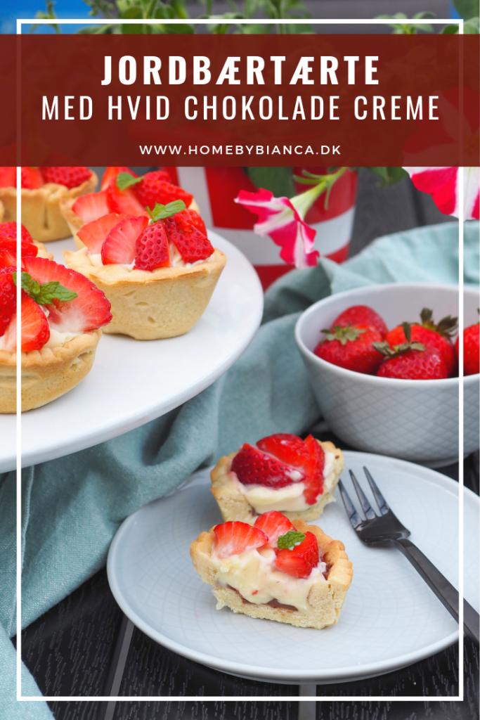 Små jordbærtærter
