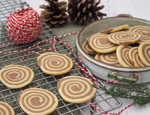 Spiral småkager opskrift