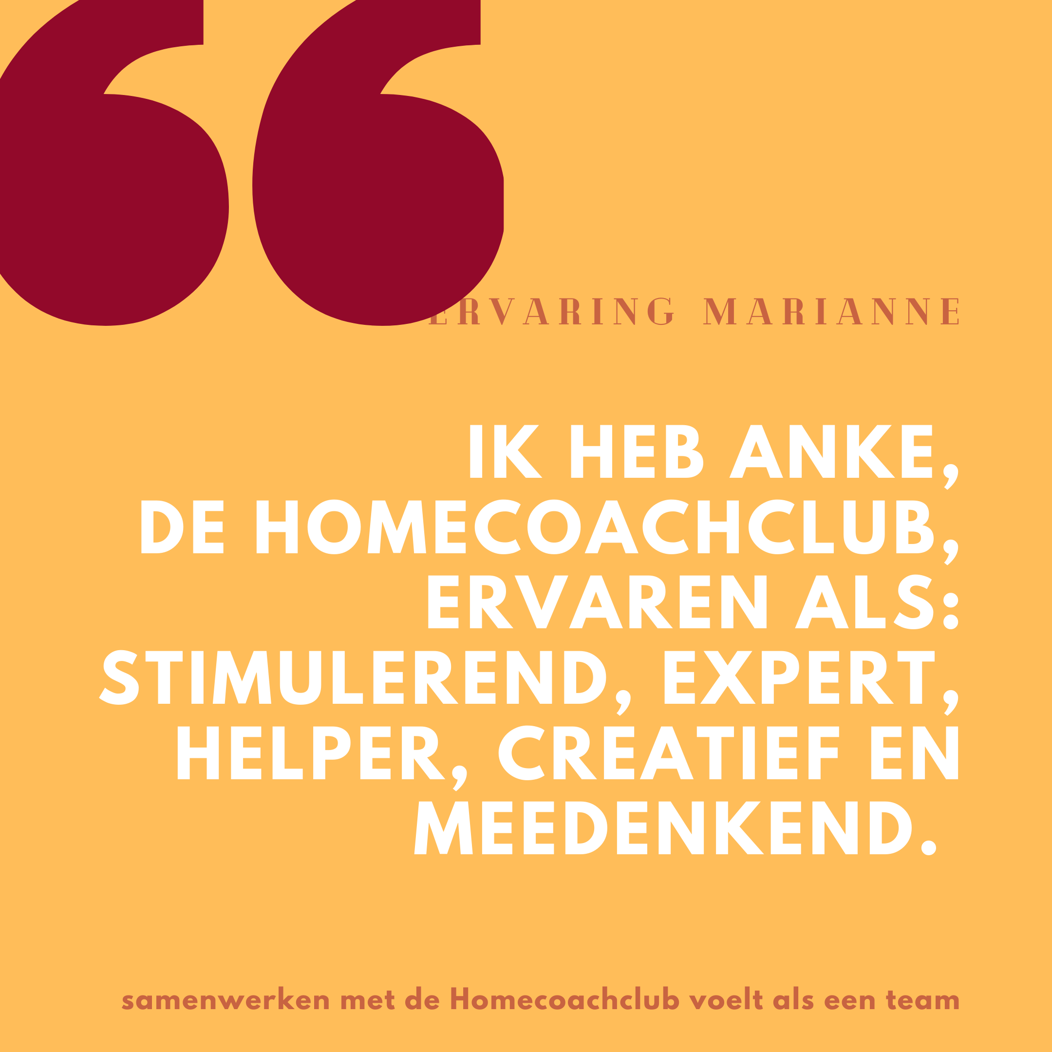 review Homecoachclub ervaren als