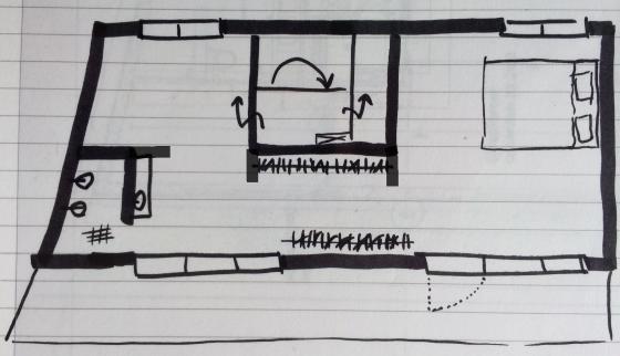 plattegrond penthouse