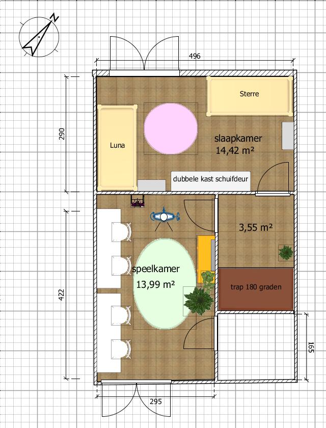 plattegrond verdieping tweeling