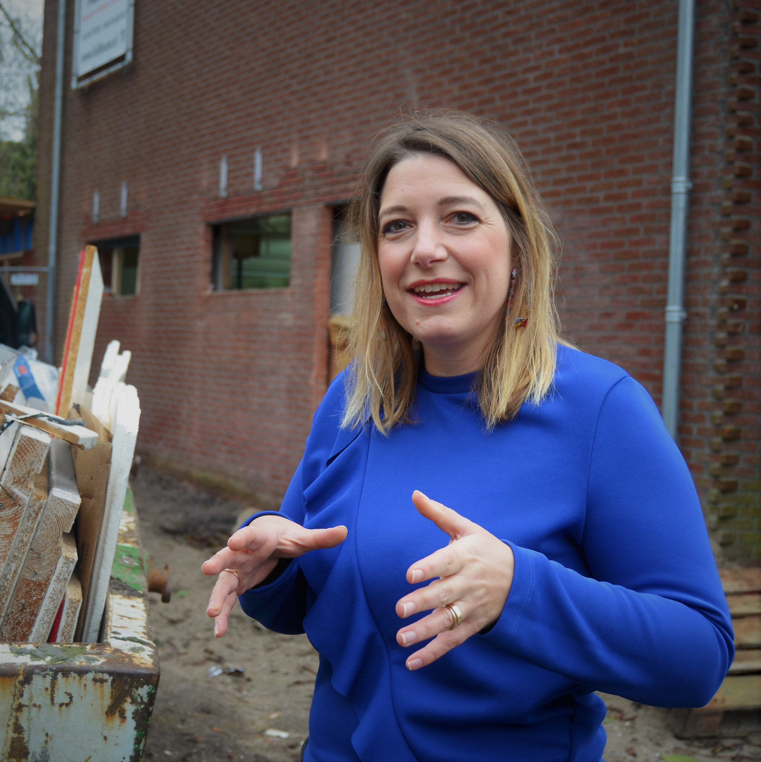 vertellende bouwvrouw Anke blauw (2)