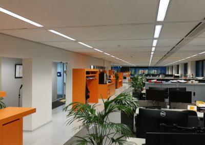 kantoor Youvia Amsterdam - overview voor verbouwing