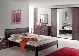 """BEDROOM """"Sphinx"""" oak, wengé color (dark brown)"""