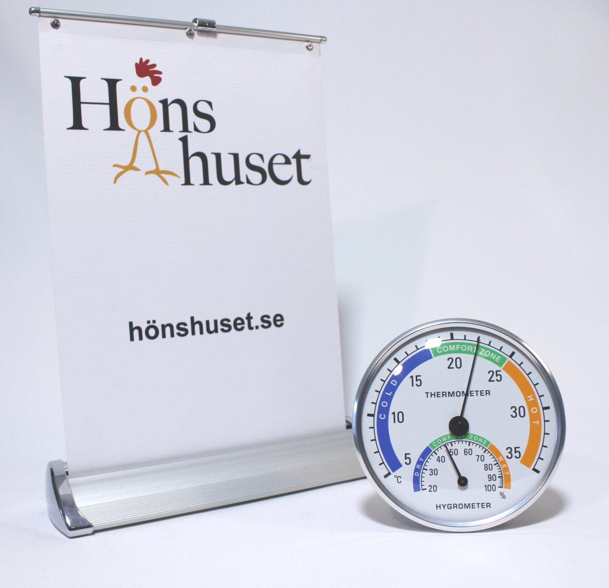 Hygrometer termometer