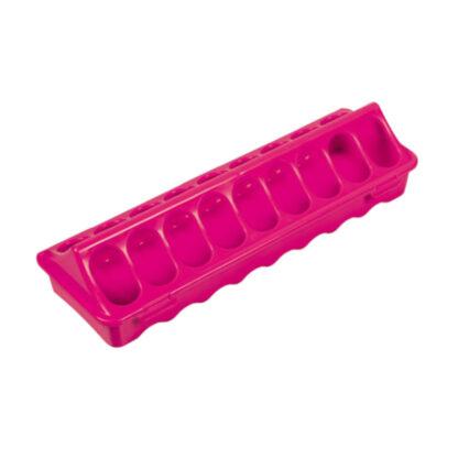 Fodertråg rosa 30 cm