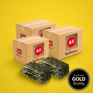 Gold Nori Per 3 dozen (Half-cut)