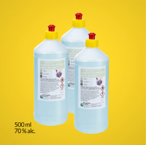 Desinfectie Handgel 70%alcohol 500ml.