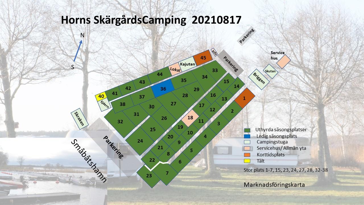 20210817 Karta Horns Skärgårdscamping