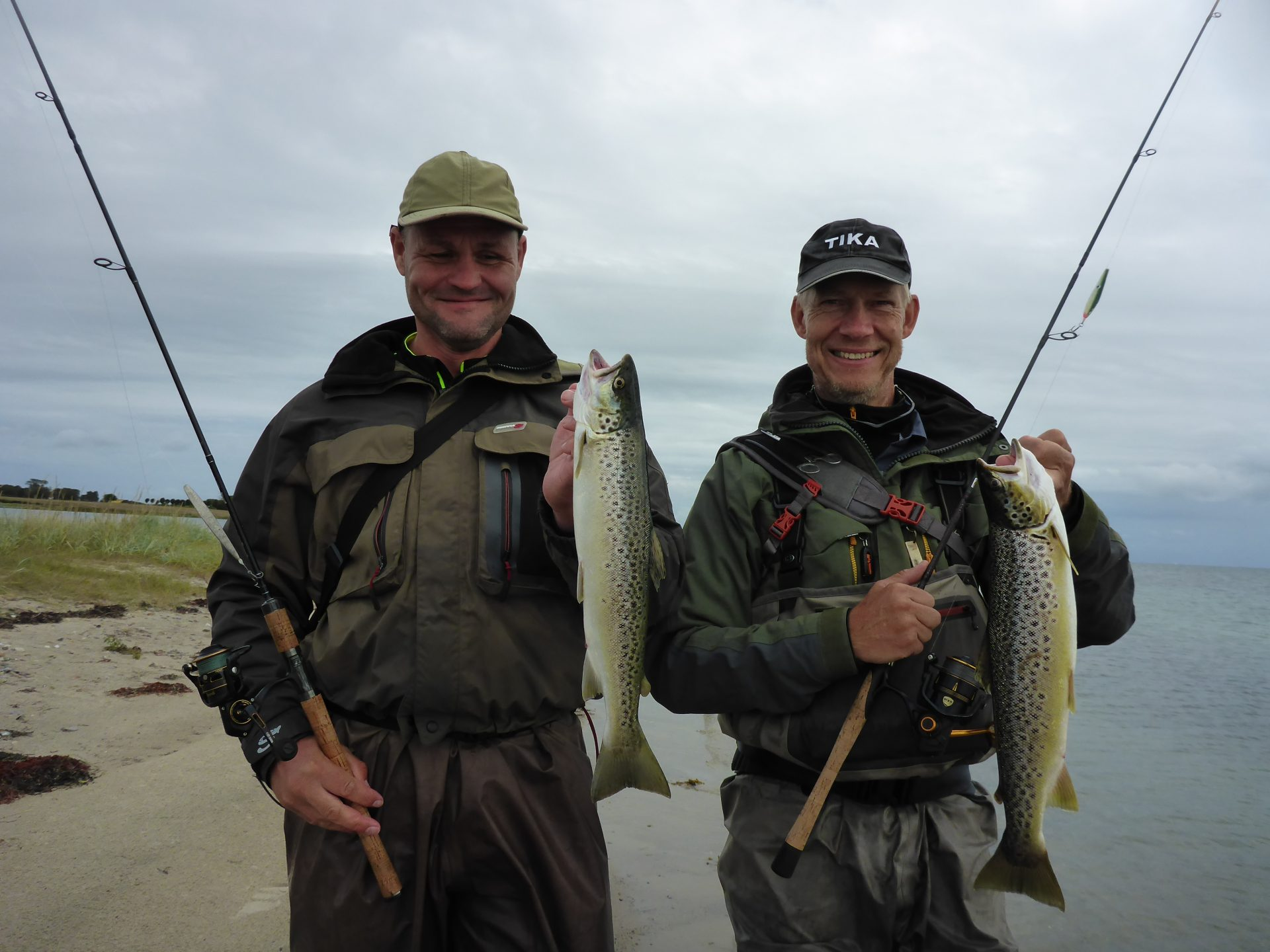 Lystfiskeri på Hjarnø