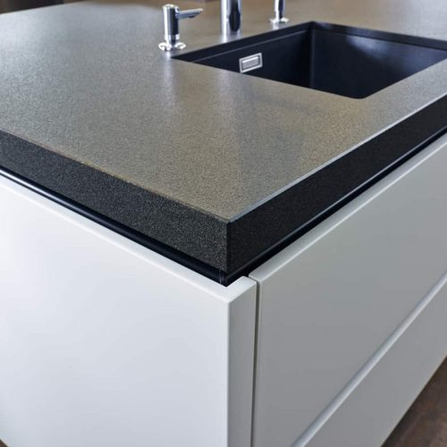 Graniet keukenblad achtergrond