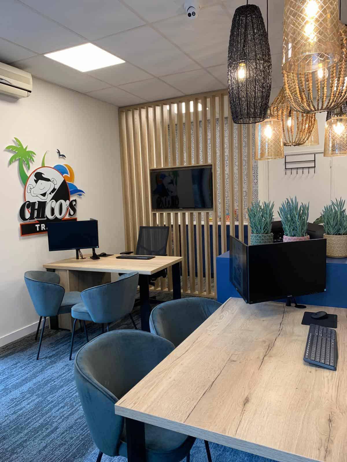 kantoorinrichting |hout en vorm