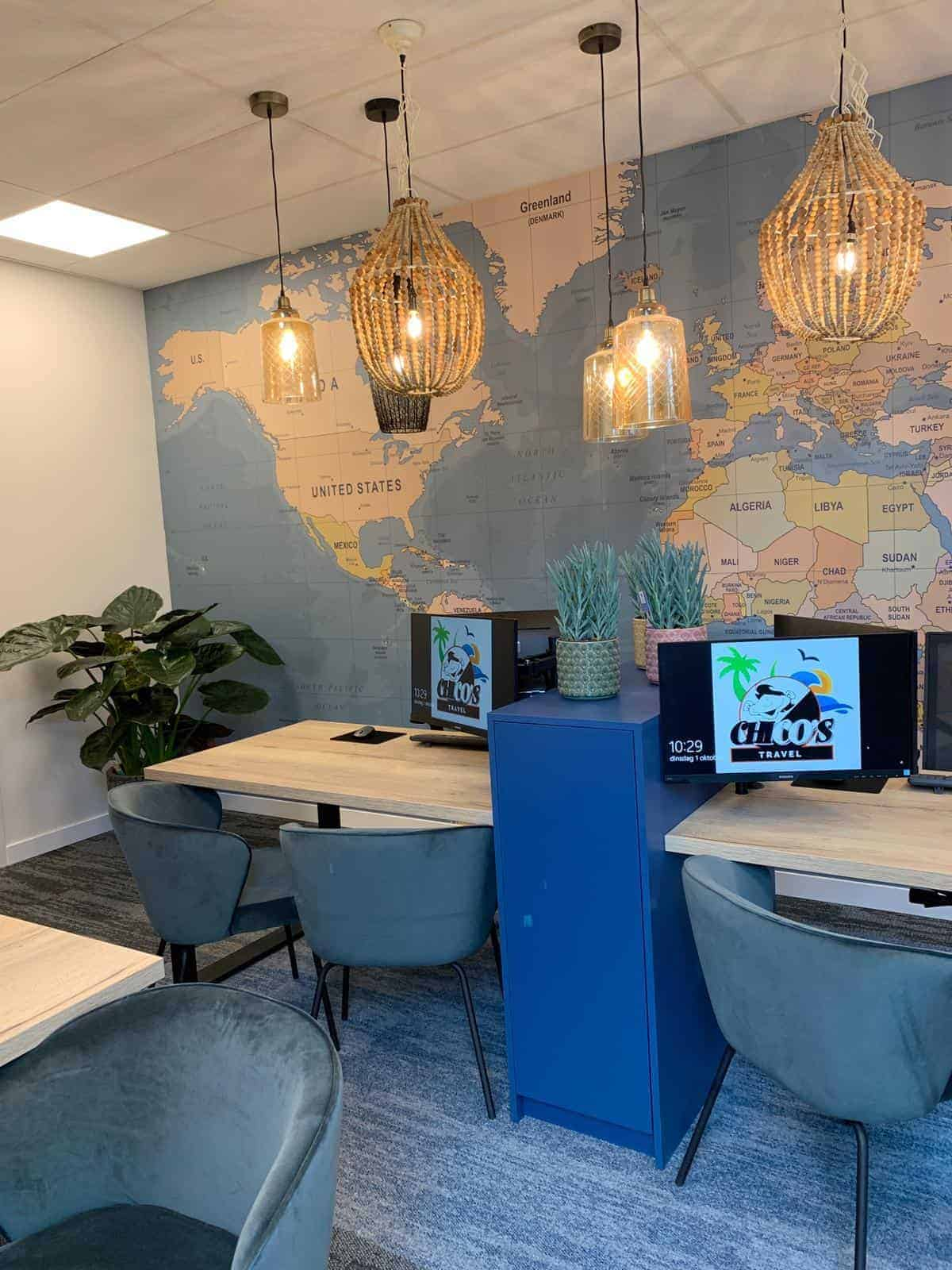 kantoorinrichting bureau | Hout en Vorm