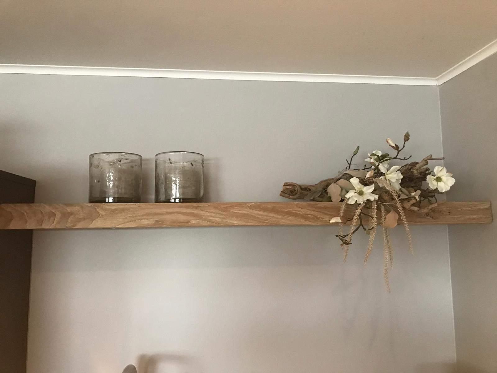 Houten wandplank