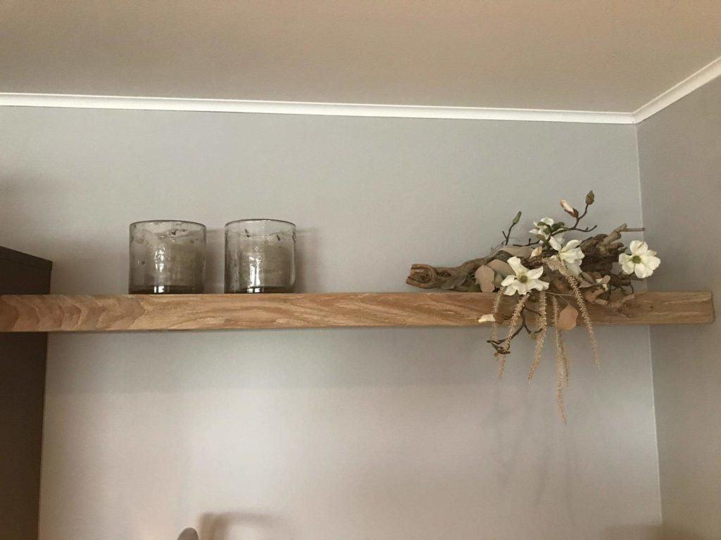 Houten Eiken wandplank