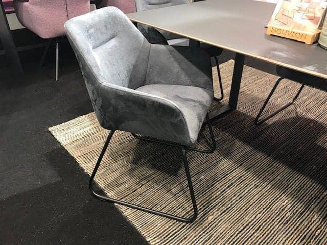 eetkamerstoel grijs