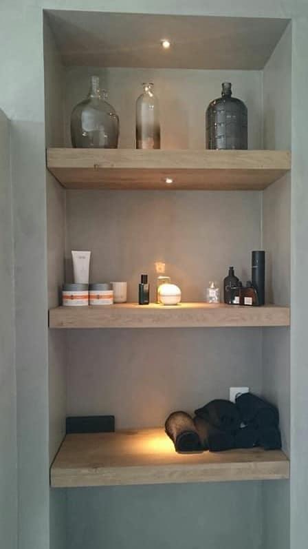 badkamermeubels misplanken   hout en vorm