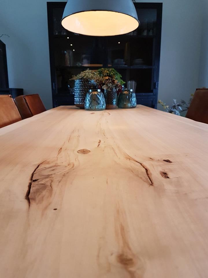 tafels eetkamertafel   Hout en Vorm