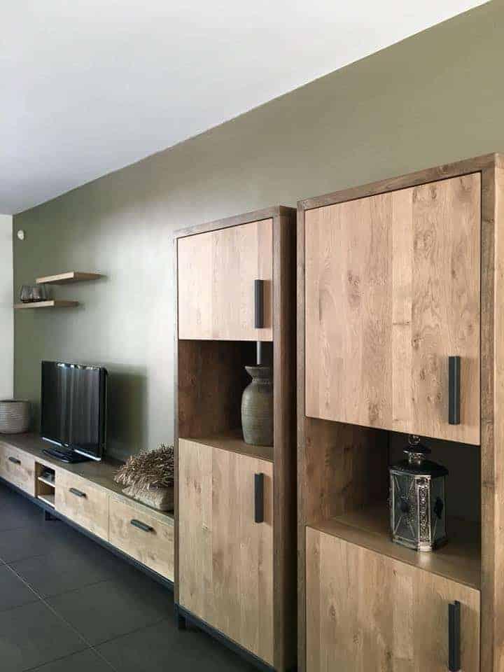 kasten wandkast massief eiken|hout en vorm